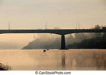 γέφυρα , δυο , ανατολή