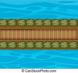 γέφυρα , εναέρια θέα
