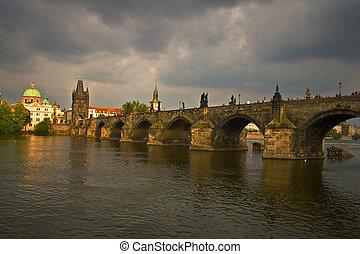 γέφυρα , κάρολος , prauge