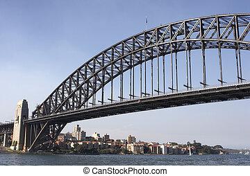γέφυρα , λιμάνι