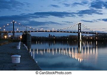 γέφυρα , μέσα , toledo