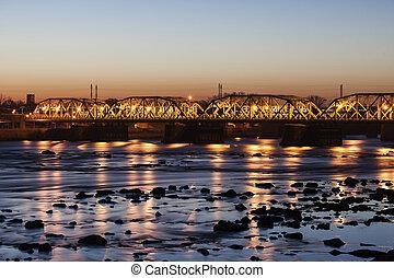 γέφυρα , μέσα , trenton