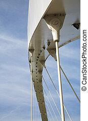 γέφυρα , μοντέρνος , δομή