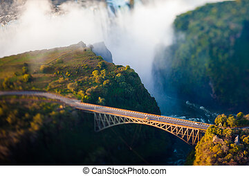 γέφυρα , πάνω , βικτωρία αλίσκομαι