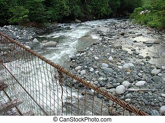 γέφυρα , πάνω , νερό