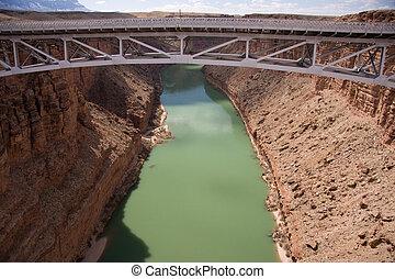 γέφυρα , πάνω , navajo , φαράγγι , μεγαλειώδης