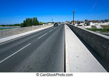 γέφυρα , ποτάμι , διαμέσου , ευρύς