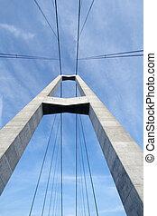 γέφυρα , πυλώνας