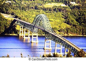 γέφυρα , σφραγίζω , νησί