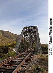 γέφυρα , τρένο