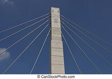 γέφυρα , υποστηρίζω