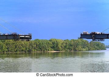 γέφυρα , υπό κατασκευή