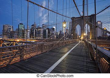 γέφυρα , brooklyn , ανατολή