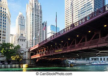 γέφυρα , dusable, σικάγο