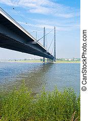 γέφυρα , dusseldorf , γερμανία