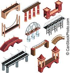 γέφυρα , isometric , θέτω