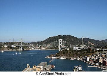 γέφυρα , kammon, πορθμός , ιαπωνία
