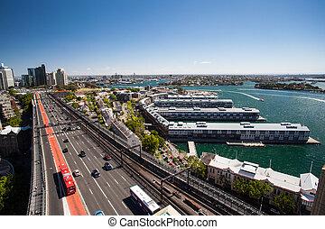 γέφυρα , walsh, λιμάνι , κόλπος