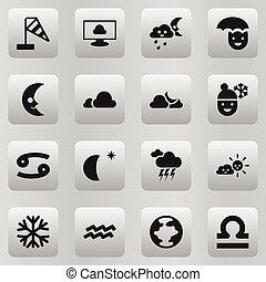 γίνομαι , κλίμα , θέτω , θυελλώδης , κινητός , icons., editable, 16 , ηλιόλουστος , ui , μεταχειρισμένος , περιέχω , σύμβολο , μπορώ , infographic, skyless, ιστός , καιρόs , τέτοιος , more., design.