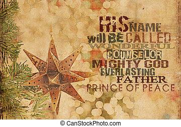 γίνομαι , όνομα , κάλεσα , διαθήκη , δικός του