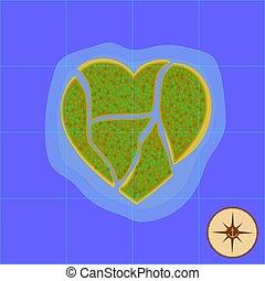 γίνομαι , heart-shaped , άγιος , εικόνα , νησί , love., κάποια , μόνο , μικροβιοφορέας , οκεανόs , μπορώ , valentine., παράδεισος , βρήκα , place., ημέρα , ακατάπαυστος