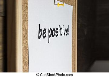 γίνομαι , positive!