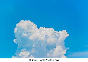 γαλάζιος ουρανός , αγαθός θαμπάδα