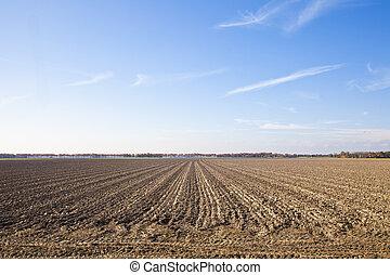 γαλάζιος ουρανός , γεωργία , τοπίο , συμβία