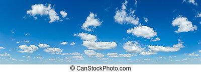 γαλάζιος ουρανός , θαμπάδα , πανόραμα , άσπρο