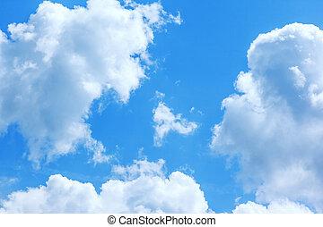 γαλάζιος ουρανός