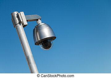 γαλάζιος ουρανός , φωτογραφηκή μηχανή , ασφάλεια