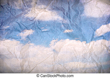 γαλάζιος ουρανός , φόντο