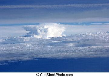 γαλάζιο αγαθός κλίμα , φόντο , clouds.