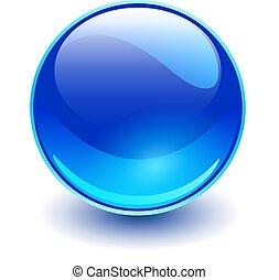 γαλάζιο βάζω τζάμια , σφαίρα