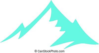 γαλάζιο βουνήσιος , εικόνα