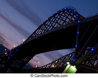 γαλάζιο διαύγεια , γέφυρα