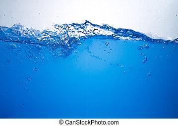 γαλάζιο διαύγεια , κύμα , αφαιρώ , φόντο