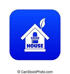 γαλάζιο εμπορικός οίκος , πράσινο , εικόνα