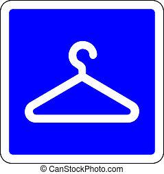 γαλάζιο ντύνω , ελέγχω , σήμα , διαθέσιμος