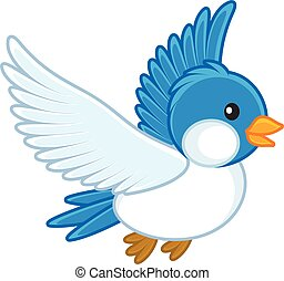 γαλάζιο πουλί