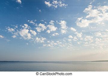 γαλήνιος , λίμνη , ανατολή , σκηνή