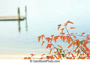 γαλήνιος , λίμνη , σκηνή