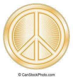 γαληνεμένος σύμβολο