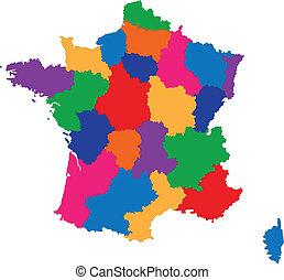 γαλλία , χάρτηs