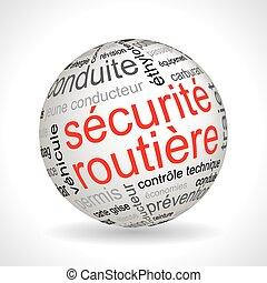 γαλλίδα , σφαίρα , θέμα , ασφάλεια , keywords, δρόμοs