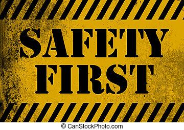 γαλόνι , ασφάλεια 1 , σήμα , κίτρινο