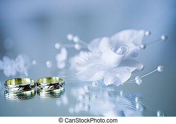 γαμήλια τελετή δακτυλίδι