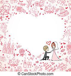 γαμήλια τελετή πρόσκληση