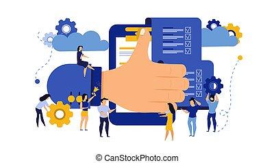 γελοιογραφία , άντραs , teamwork., επιτυχία , illustration., συμβολή , συμφωνία , concept., σεβασμός , χέρι , πρόσωπο , δουλειά , businessperson , συμβόλαιο , συνεργάτηs , επιχείρηση , μικροβιοφορέας , συνάντηση , σχέση , μοιράζω , έγγραφο , εκτίμηση , δουλειά