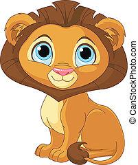 γελοιογραφία , λιοντάρι